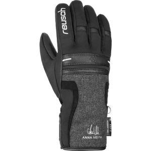 Reusch ANNA VEITH R-TEX XT černá 8 - Lyžařské rukavice