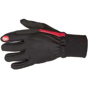 REX MARKA SOFTSHELL černá XL - Rukavice na běžecké lyžování