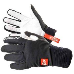 REX THERMO PLUS černá XXL - Rukavice na běžecké lyžování