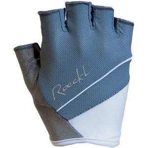 Roeckl DENICE modrá 7 - Dámské cyklistické rukavice