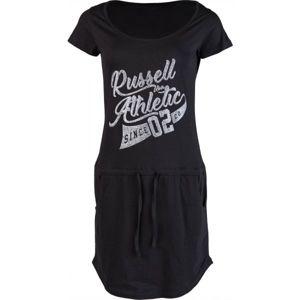 Russell Athletic DRESS PRINT černá M - Dámské šaty