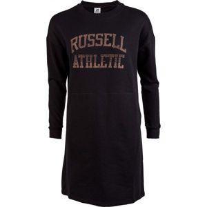 Russell Athletic PRINTED DRESS černá XS - Dámské šaty