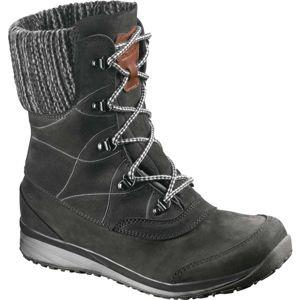 Salomon HIME MID LTR CSWP černá 7 - Dámská zimní obuv