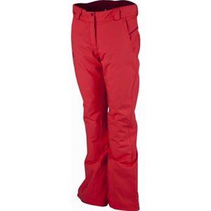 Salomon STORMSEASON PANT W červená L - Dámské zimní kalhoty