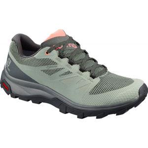 Salomon OUTLINE GTX W šedá 6.5 - Dámská obuv