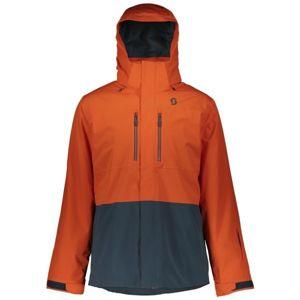 Scott ULTIMATE DRYO 40 oranžová L - Pánská zimní bunda