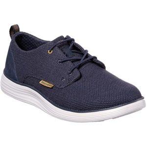 Skechers STATUS tmavě modrá 45 - Pánské nízké tenisky
