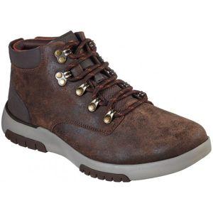 Skechers BELLINGER 2.0 hnědá 42 - Pánské kotníkové boty