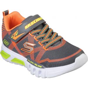 Skechers S-LIGHTS: FLEX-GLOW tmavě šedá 29 - Chlapecké blikající tenisky