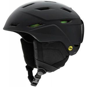 Smith MISSION MIPS černá (55 - 59) - Pánská lyžařská helma