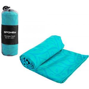Spokey MANDALA 80x160CM modrá NS - Rychleschnoucí ručník