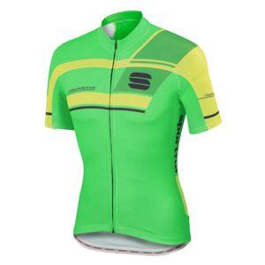 Sportful GRUPPETTO PRO TEAM zelená 3xl - Cyklistický dres