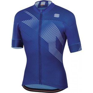 Sportful BODYFIT TEAM 2.0 FASTER modrá XL - Cyklistický dres