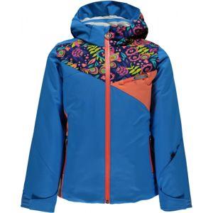 Spyder PROJECT G modrá 12 - Dívčí lyžařská bunda