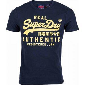 Superdry AUTHENTIC černá M - Pánské tričko