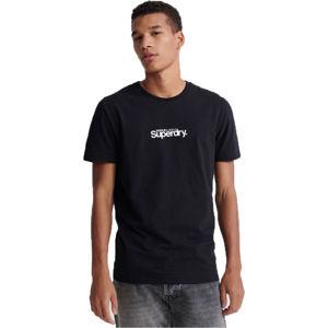 Superdry CORE LOGO ESSENTIAL TEE černá XL - Pánské tričko