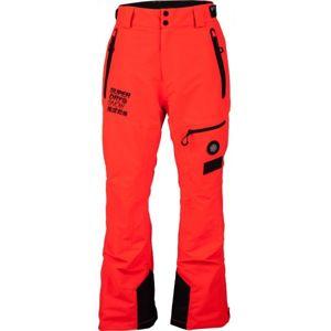 Superdry SD PRO RACER RESCUE PANT červená L - Pánské lyžařské kalhoty