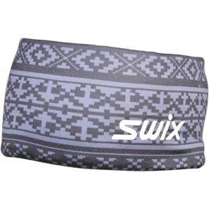 Swix MYRENE bílá  - Dámská designová sportovní čelenka