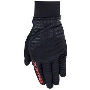 Swix NAOSX černá M - Závodní rukavice na běžky