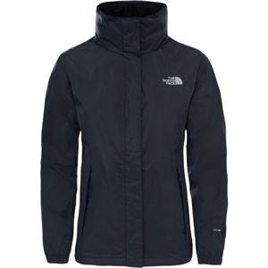 The North Face RESOLVE 2 JACKET W černá XL - Dámská nepromokavá bunda