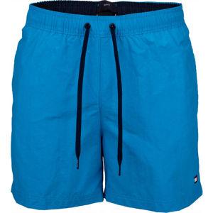 Tommy Hilfiger SF MEDIUM DRAWSTRING modrá XL - Pánské šortky do vody
