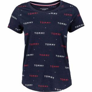 Tommy Hilfiger SS TEE PRINT  L - Dámské tričko