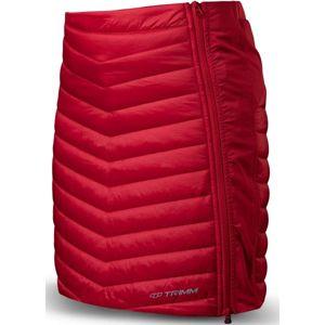 TRIMM RONDA červená S - Dámská zateplená sukně