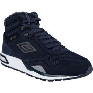 Umbro REDHILL HIGH W PROOF tmavě modrá 9.5 - Pánská volnočasová obuv