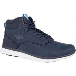 Umbro JAGGY LACE modrá 5.5Y - Chlapecká volnočasová obuv