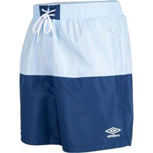 Umbro PANELLED SWIM SHORT modrá XL - Pánské plavecké šortky