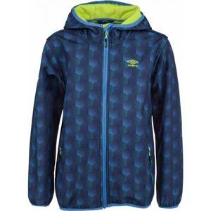 Umbro INAS modrá 128-134 - Chlapecká softshellová bunda