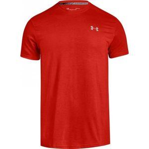 Under Armour THREADBORNE STREAKER červená L - Pánské funkční triko