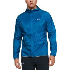 Under Armour QUALIFIER STORM PACKABLE JACKET modrá XL - Pánská bunda