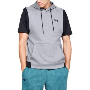 Under Armour UNSTOPPABLE 2X KNIT SL HOODIE šedá S - Pánská vesta