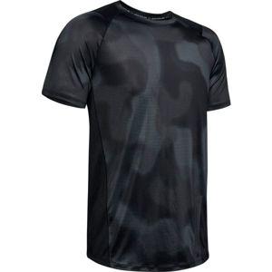 Under Armour MK1 SS PRINTED černá XL - Pánské tričko