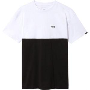 Vans MN COLORBLOCK TEE bílá XS - Pánské triko