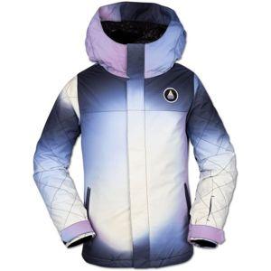 Volcom SASS'N'FRAS INS JKT bílá L - Dívčí lyžařská/snowboardová bunda