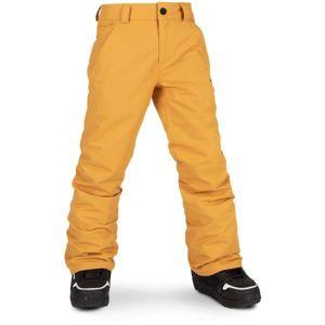 Volcom FREAKIN SNOW CHINO  XS - Chlapecké lyžařské/snowboardové kalhoty