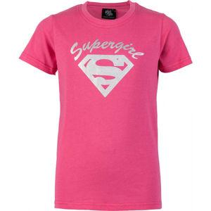 Warner Bros SPRG růžová 116-122 - Dívčí triko