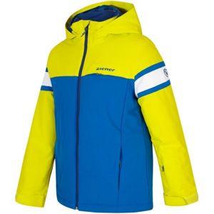 Ziener ALIAM JR žlutá 116 - Chlapecká bunda